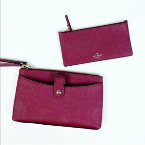 New Kate Spade Laurel Way Roxanna Wristlet -Wallet
